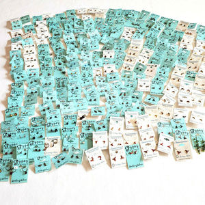 Sterling Silver Earring Lot 250+ Pairs Tarnished